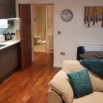 Studio style apartment in Stamford town centre