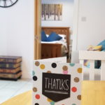 A lovely thank you card from our guests