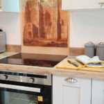 Crowland Abbey is featured on our splashback