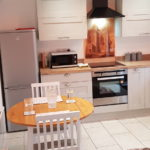 Plenty of space to prepare, serve and eat your meals in comfort and style